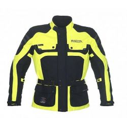 Richa Spirit C-Change Textile Jacket Fluro Yellow