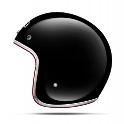 MT Le Mans Gloss Black Open Face Helmet