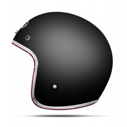 MT Le Mans Matt Black Open Face Helmet