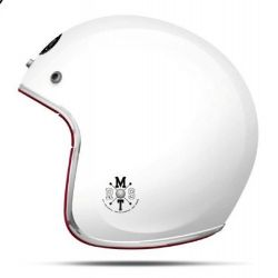MT Le Mans Gloss White Open Face Helmet