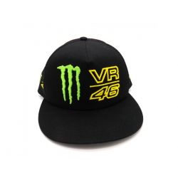 Monster Trucker Cap Black