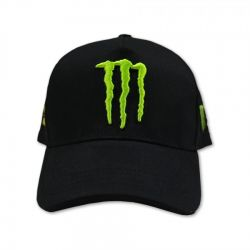 Monster VR46 Cap Black