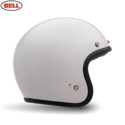 Bell 2014 Street Helmet Custom 500 Solid Vintage White