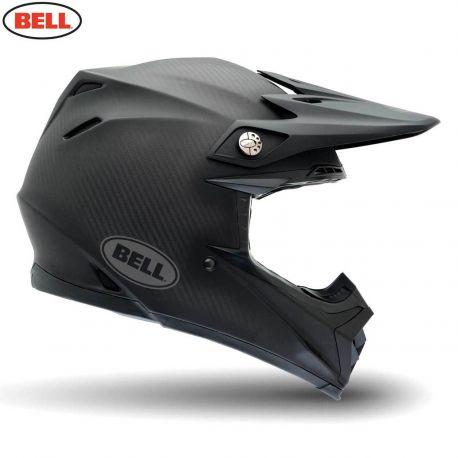 Bell 2014 MX Helmet (Adult) Moto 9 Carbon Solid Matte