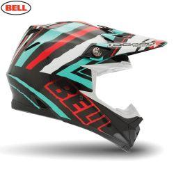 Bell 2014 MX Helmet (Adult) Moto 9 Carbon Tagger Scrub