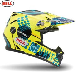Bell 2014 MX Helmet (Adult) Moto 9 Carbon Unit Existance