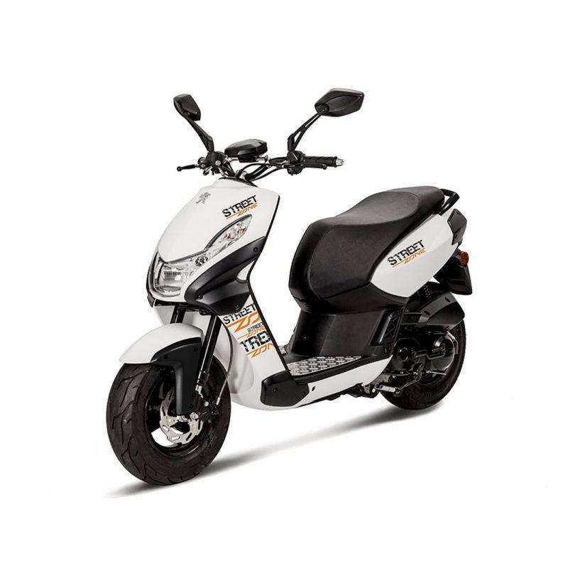 peugeot streetzone 50cc scooter poole moto. Black Bedroom Furniture Sets. Home Design Ideas