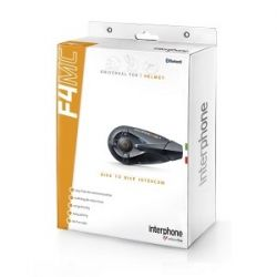 Interphone F4MC Bluetooth Single Pack