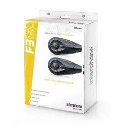 Interphone F3 Universal Bluetooth Twin Pack