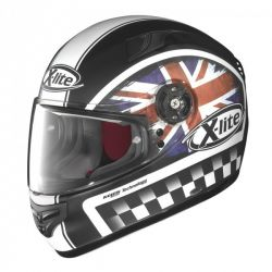 X-Lite X-603 Ride N-COM Matte Union Flag