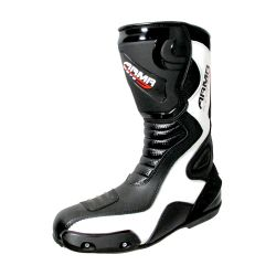 ARMR MONTEGI RACE 2 BOOTS WHITE/BLACK