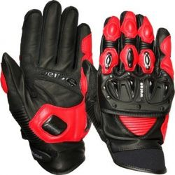 Weise Daytona Waterproof Gloves Black/Red