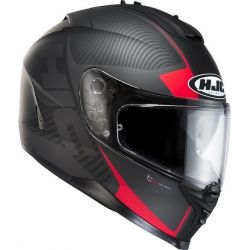 HJC IS-17 Mission BLK/RED