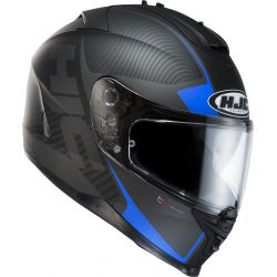 HJC IS-17 Mission BLK/BLU