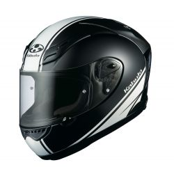 Kabuto FF-5V Works - Flat Black/White