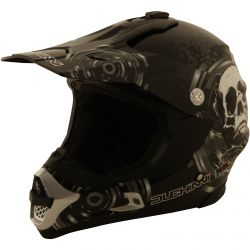 Duchinni D305 Skull Black/White