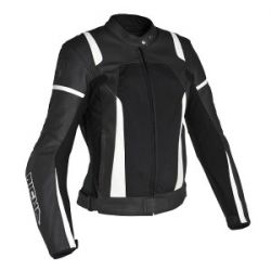 Richa Athena Black/White Leather Jacket