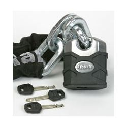 Krall KHS915 Thatcham Approved Lock & Chain Set