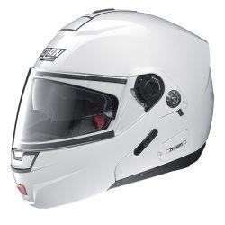 Nolan N91 EVO CLASSIC N-COM Metal White