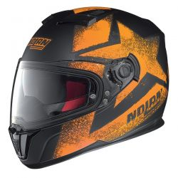 Nolan N86 STAM Flat Black/Orange