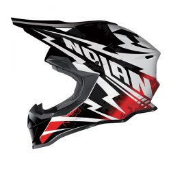 Nolan N53 MX COMP Metal White/Red