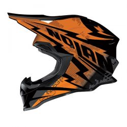 Nolan N53 MX COMP Metal Black/Orange