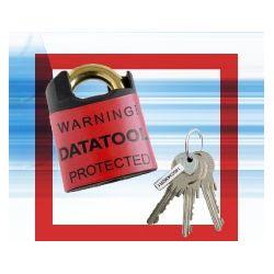 Datatool Hard Security Portable Python Padlock