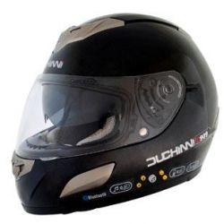 DUCHINNI D909 BLUETOOTH HELMET BLACK