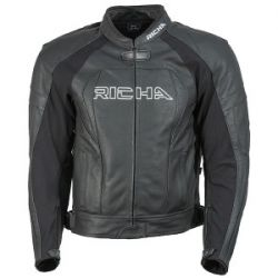 RICHA PIRANHA JACKET BLK/WHT