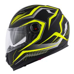KAPPA KV DENVER HELMET YELLOW & MATT BLACK