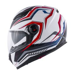 KAPPA KV DENVER HELMET RED WHITE