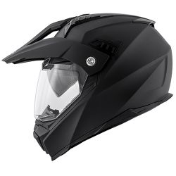KAPPA KV30 ENDURO HELMET WITH VISOR MATT BLACK