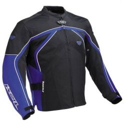 Ixon Specious Textile Parka Black/Blue