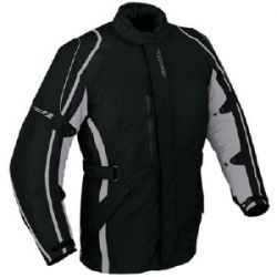 Ixon Specious Textile Parka Black/Grey