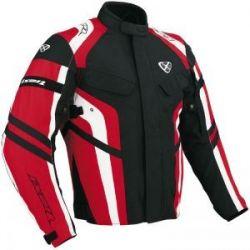 Ixon E4257H Xeres Black and Red Textile Jacket