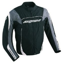 Ixon E4318H Diablo Fiction Black and Grey Textile Jacket