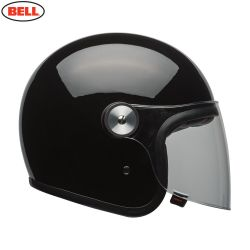 Bell Cruiser Riot Adult Helmet (Solid Black)