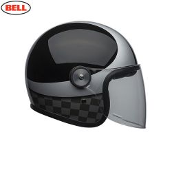 Bell Cruiser Riot SE Adult Helmet (Checks Black/Silver)