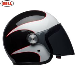 Bell Cruiser 2018 Riot Adult Helmet (Boost White/Black/Red)