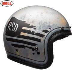 Bell Cruiser Custom 500 SE Adult Helmet (RSD 74 Black/Silver)