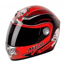 Nitro Hellrazor Fiberglass Helmet