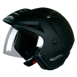 Nitro X512-V Open Face Helmet Satin Black