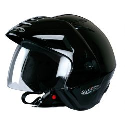 Nitro X512-V Open Face Helmet Black