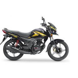 Honda CB Shine SP 125cc- Black Yellow