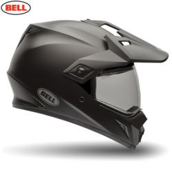 Bell MX MX-9 Adventure Adult Helmet Solid Matte Black