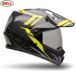 Bell MX MX-9 Adventure Barricade Hi-Vis Adult Helmet