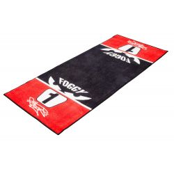 OFFICIAL LICENSED CARL FOGARTY GARAGE MAT - 190X80CM - 'NUMBER 1'
